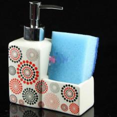 Dozator pentru sapun cu burete