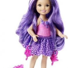 Papusa Barbie Long Hair Chelseas Purple Doll Mattel