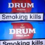 Tutun Drum Original & Bright Blue, pachet 50 gr. made uk.