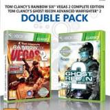 Rainbow Six Vegas 2 And Ghost Recon Advanced Warfighter 2 Xbox360 - Jocuri Xbox 360