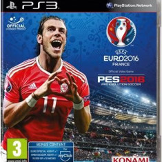 Uefa Euro 2016 And Pro Evolution Soccer Ps3
