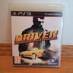 PS3 Driver San Francisco - joc original by WADDER - Jocuri PS3 Ubisoft, Curse auto-moto, 12+, Multiplayer