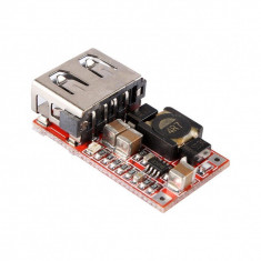 DC-DC converter step-down, IN:6-24V, OUT:5V (3A) USB - Convertor