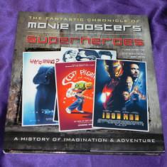 Album afise filme supereroi Superheroes movie posters history (f0606 - Reviste benzi desenate