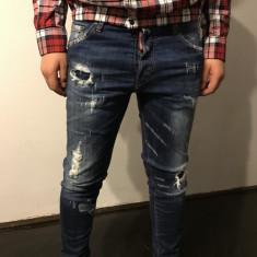 Blugi Dsquared Skinny Jeans colectie 2016/02 - Blugi barbati Dsquared2, Marime: 48, Culoare: Albastru