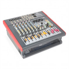 Power Dynamics PDM-S803A activ cu 8 canale mixer USB DSP MP3 FX AUX EQ - Monitor studio