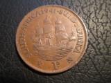 Africa de Sud . 1 penny . 1941, Bronz