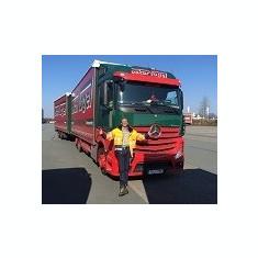 Șofer de camion în Germania