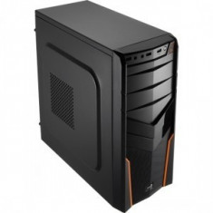 Aerocool Carcasa PGS V2X Orange Edition AEROPGSV2X-BK/0 - Carcasa PC Aerocool, Middle tower