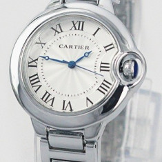 CEAS DAMA CARTIER-CALIBRE DE CARTIER2-SILVER EDITION-SUPERB-COLECTIE 2017 !!!!