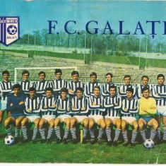 CPI (B8054) CARTE POSTALA - FOTBAL CLUB GALATI - Carte Postala Moldova dupa 1918, Necirculata, Fotografie