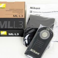 Telecomanda wireless Nikon ML-L3 Remote Control NOUA in cutia originala - Telecomanda Aparat Foto