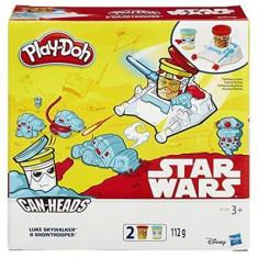 Jucarie Play-Doh Star Wars Can-Heads Luke Skywalker And Snowtrooper Play Set Hasbro