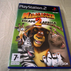 Joc Madagascar 2, PS2, original, alte sute de jocuri! - Jocuri PS2 Activision, Actiune, 3+, Single player