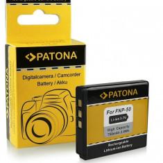 Acumulator Fuji NP-50, Kodak Klic-7004, Pentax D-Li68, D-Li22,  marca Patona ,