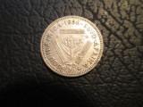 Africa de Sud . 3 pence . 1956, Argint