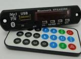 Modul mp3 cu slot pentru SD Card USB Radio FM Bluetooth telecomanda