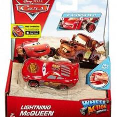 Masinuta Disney Cars Wheel Action Drivers Lightning Mcqueen Mattel