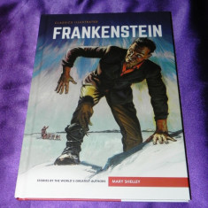 Frankenstein - Mary Shelley benzi desenate engleza classics illustrated (f0618