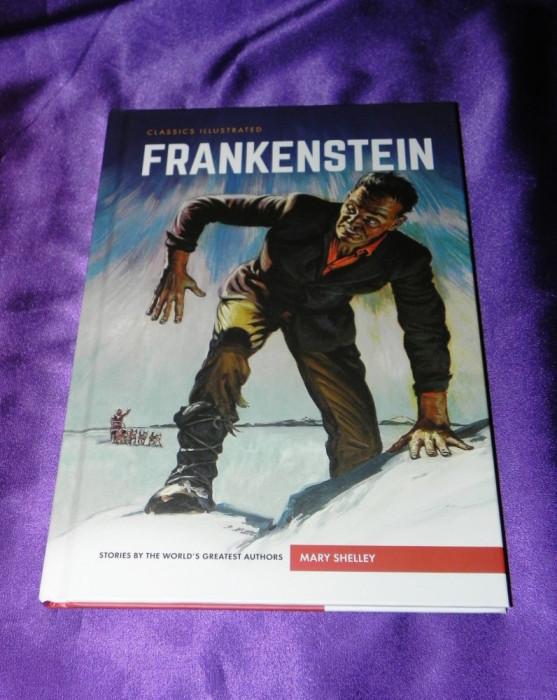 Frankenstein - Mary Shelley benzi desenate engleza classics illustrated (f0618 foto mare
