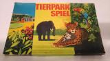Joc vechi german vintage din 1975 Tierpark Spiel Animal Park Zoo