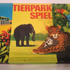 Joc vechi german vintage din 1975 Tierpark Spiel Animal Park Zoo - Joc colectie
