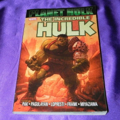 Benzi desenate Planet The Incredible Hulk marvel 414 PAGINI - Reviste benzi desenate Altele