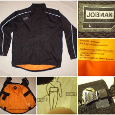 Geaca JOBMAN salopeta combinezon bluza munca constructii lucru cordura - Geaca barbati, Marime: L, Culoare: Din imagine