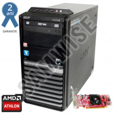 Calculator AMD Athlon II X2 250 3GHz 4GB DDR2 250GB Radeon HD4550 512MB 64Bit - Sisteme desktop fara monitor HP, 2501-3000Mhz, 200-499 GB, AM2