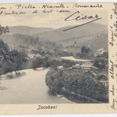 3724 - Bucovina, Suceava, IACOBENI - old postcard - used - 1904 - Carte Postala Bucovina pana la 1904, Circulata, Printata