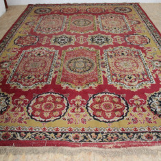 Covor Persan Mare 360X255 cm, din lana naturala; Mocheta - Covor vechi