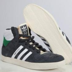 Ghete ADIDAS Post Player leather hi top, adidasi originali, piele naturala 100% - Bocanci barbati Adidas, Marime: 40, Culoare: Din imagine