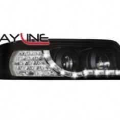 Faruri tuning DAYLINE AUDI A4 B5 99-01 negru - FTD44582