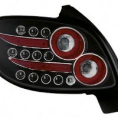 STOPURI tuning LED PEUGEOT 206CC 98-09 NEGRU - RP01CCLLB - STL45937