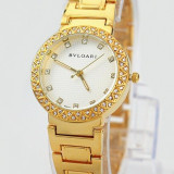 CEAS DAMA BVLGARI SOLOTEMPO CLASSIQUE GOLD&DIAMONDS EDITION-SUPERB-COLECTIE NOUA