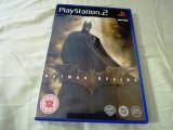 Joc Batman Begins, PS2, original, alte sute de jocuri!, Actiune, 3+, Single player, Activision