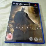 Joc Batman Begins, PS2, original, alte sute de jocuri!