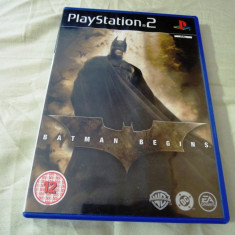 Joc Batman Begins, PS2, original, alte sute de jocuri! - Jocuri PS2 Activision, Actiune, 3+, Single player