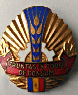 INSIGNA FRUNTAS COOP DE CONSUM CU EMAIL RECE foto