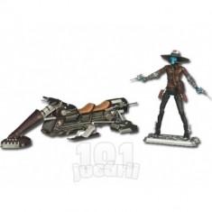 Vehicul Star Wars si figurina Cad Bane - Figurina Povesti Hasbro