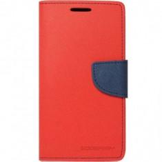 HUSA ALCATEL POP C7 FLIP ROSU-ALBASTRU MYFANCY - Husa Telefon