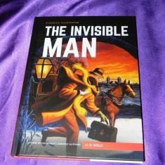 The invisible man Omul invizibil H G Wells classics illustrated engleza (f0617 - Reviste benzi desenate