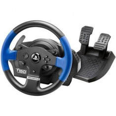 Volan Gaming Thrustmaster T150 Force Feedback Albastru Pc Ps3 Si Ps4