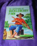 Aventurile lui Hucklebbery Finn Mark Twain classics illustrated engleza  (f0626