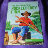 Aventurile lui Hucklebbery Finn Mark Twain classics illustrated engleza  (f0626