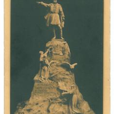 3045 - CRAIOVA, Monument Mihai Viteazul - old postcard - unused - Carte Postala Oltenia 1904-1918, Necirculata, Printata
