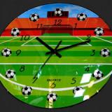 Ceas de perete Fotbal 3D
