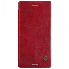 HUSA SONY XPERIA XZ FLIP NILLKIN QIN ROSU - Husa Telefon