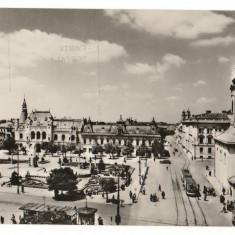 CPI (B8095) CARTE POSTALA - ORADEA. PIATA VICTORIEI - Carte Postala Crisana dupa 1918, Necirculata, Fotografie