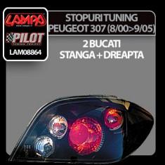 Stopuri tuning Peugeot 307 (8/00-9/05) - Negre - STPE528